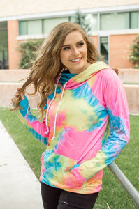 Brighter Days Tie Dye Hoodie-adult & kids