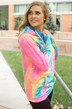 Load image into Gallery viewer, Brighter Days Tie Dye Hoodie-adult & kids