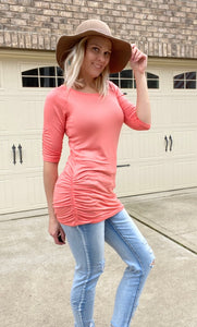 Want Your Heart Top-Coral