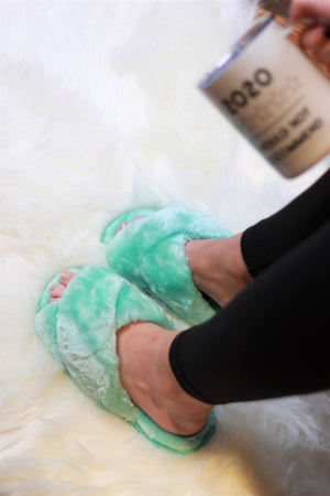 Ultra Fuzzy Solid Color House Shoes