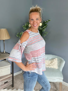 Weekend Escape Striped Top