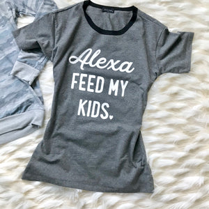 Help a Mom Out Tee  - The Peach Mimosa