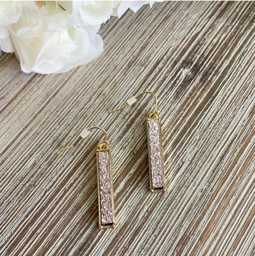 My Fascination Earrings-rose gold