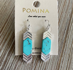 Charming Chevron Earrings