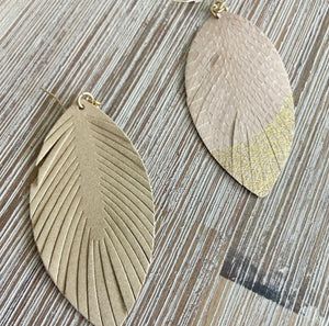 Modern Love Earrings-beige