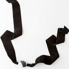 Load image into Gallery viewer, MARLENE Ellipse Choker / Thick Suede Strap