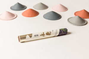CONE Incense Holder / Set • Peony