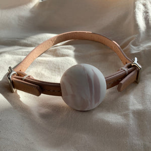 ŌYA  • Ball Choker -Natural