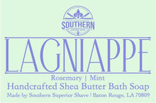 Load image into Gallery viewer, Lagniappe Handcrafted Rosemary and Mint Shea Butter Bath Soap