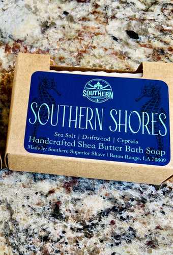 Southern Shores Handcrafted Shea Butter Bath Soap