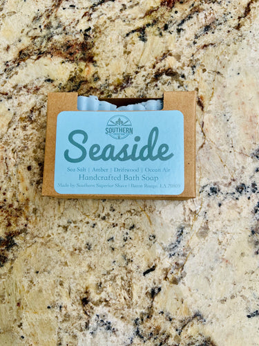 Seaside Handcrafted Shea Butter Bath Soap