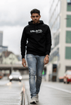 The hoodie for men - Black / White