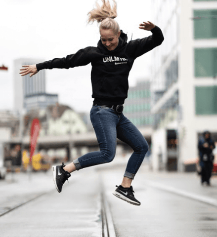 The hoodie for women - Black / White