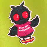 Mothman sticker