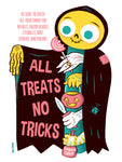 All Treats 12 X 16 limited edition poster