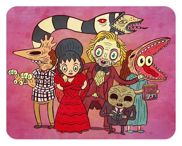"""Beetlejuice Wedding"" 8 x 10 limited edition print"