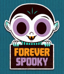 Forever Spooky cutout print