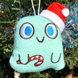 """Ghost of Christmas Presents"" felt ornament"