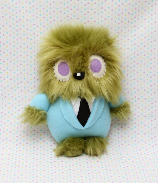 """Moss Boss"" plush toy- Made to Order"