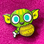 """Midnight snacker"" hard enamel pin"