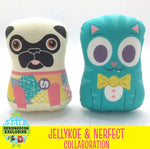 DesignerCon exclusive Nerfect collab plush pug