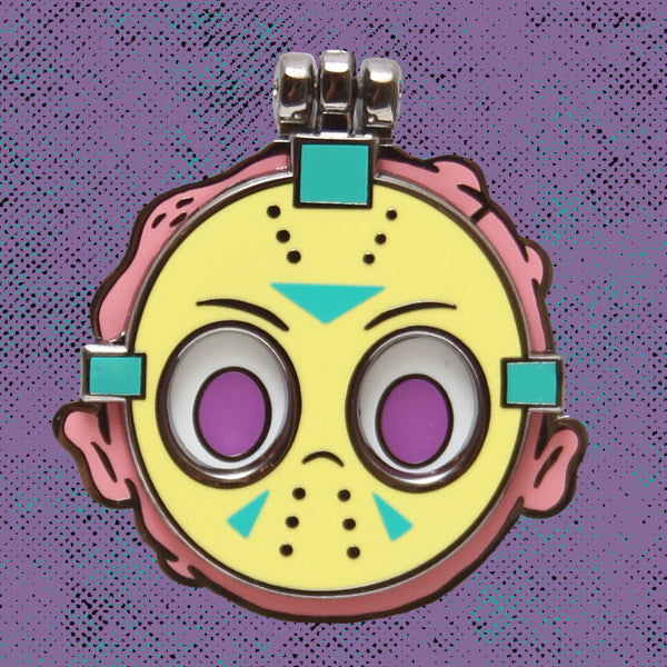 """Friday the Derpteenth: Pastel Hell Edition"" hard enamel pin"