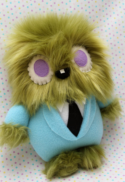 """Moss Boss"" plush toy"