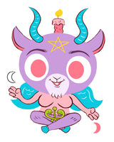 """Baphomet"" limited edition 8 x 10 print"