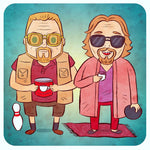 """Big Lebowski"" 8 X 8 limited edition print"