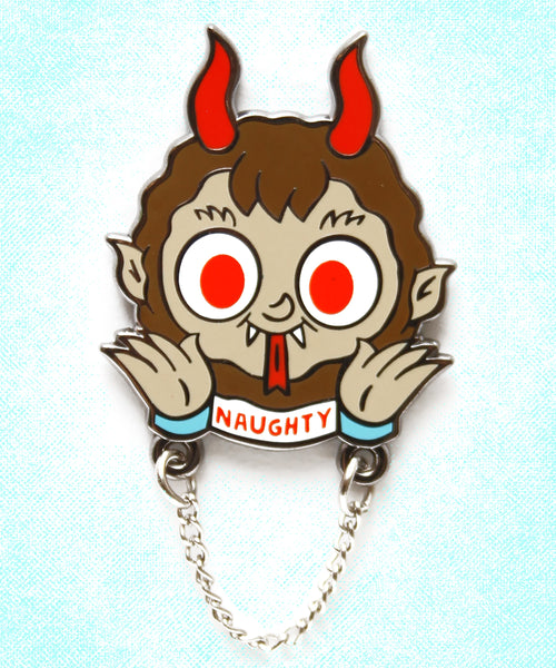 Krampus 2020 Holiday exclusive hard enamel pin