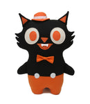 """Midnight Jack"" cat plush- Made to Order"