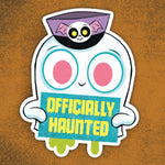 Officially Haunted sticker