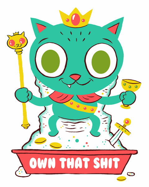 """Own it"" 8 x 10 special edition print"