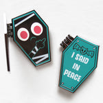 """RIP"" hard enamel pin"
