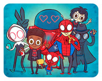 """Spider Squad"" 8 x 10 limited edition print"