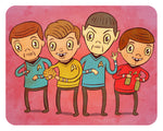 """Star Trek"" 8 x 10 limited edition print"