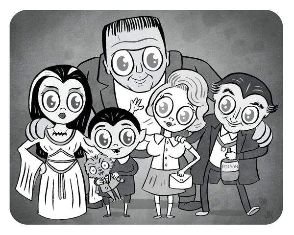 """The Munsters"" limited edition 8 x 10 print"