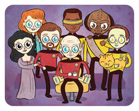"""TNG"" 8 x 10 limited edition print"