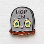 """Tombstommy"" soft enamel pin"