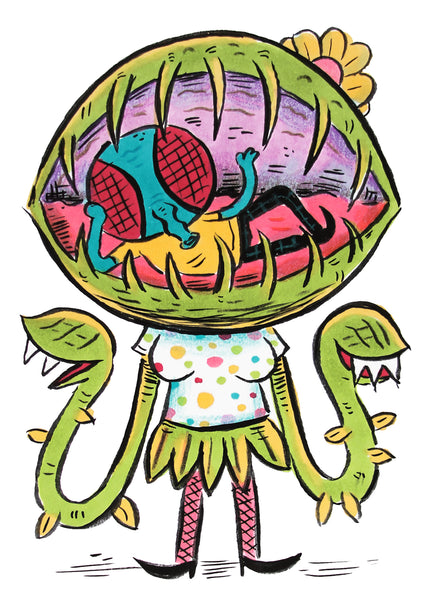 Venus Fly Trap original drawing
