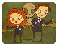 """X-Files"" 8 x 10 limited edition art print"