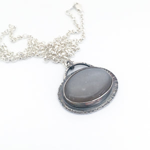 Lunar Umbra Pendant Necklace