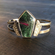 Load image into Gallery viewer, Zoisite Warrior Cuff