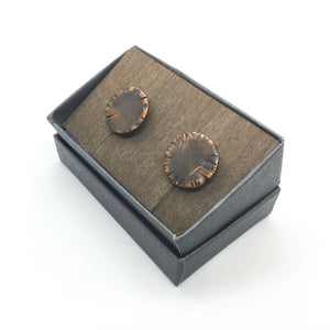 Copper Cuff Links