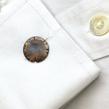 Load image into Gallery viewer, Copper Cuff Links