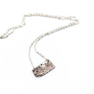 Lunar Surface Necklace No. 2