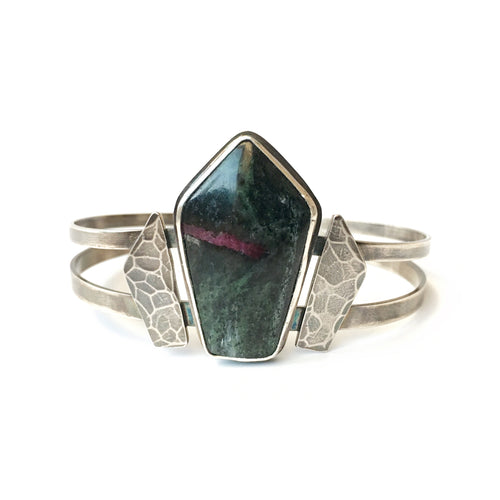 Zoisite Warrior Cuff