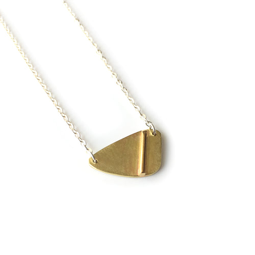 Brass on Brass Necklace