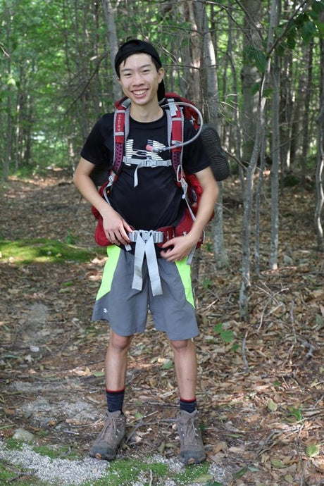 Alex's Appalachian Trail Hike Raises Thousands for Housing Families Inc.