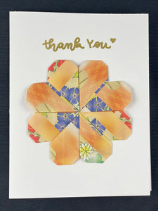 Origami Flower Card with